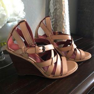 New! Coach Wedge Sandals